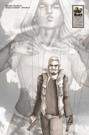 Hades-Syndrom - Epitaph 2 Cover Michael Feldmann