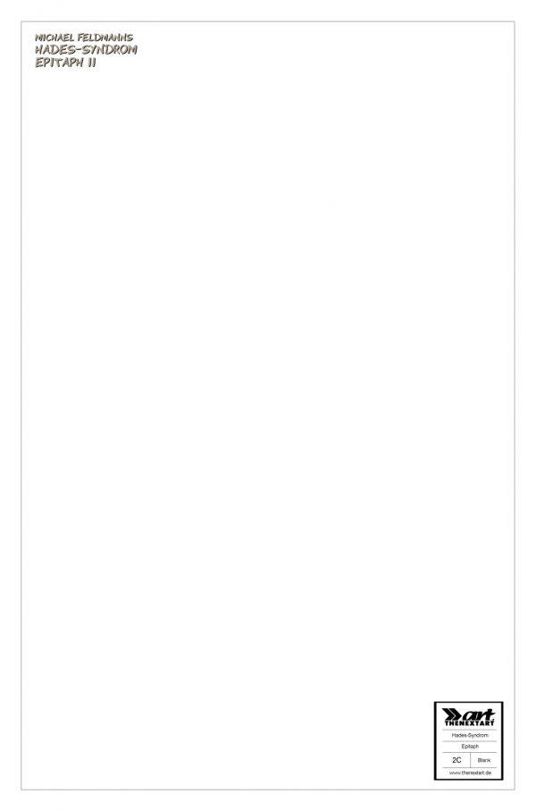 Michael Feldmann Hades-Syndrom - Epitaph 2 Variant Blank Sketch