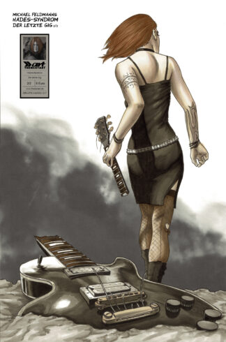 Hades Syndrom Der letzte Gig 2 Cover Michael Feldmann