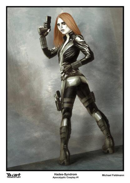 Michael Feldmann A4 Druck Apocalyptic Cosplay 1 Black Widow