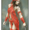 Michael Feldmann A4 Druck Apocalyptic Cosplay 2 Elektra