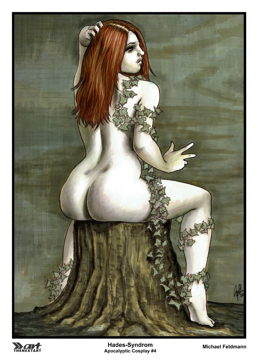 Michael Feldmann A4 Druck Apocalyptic Cosplay 4 Poison Ivy
