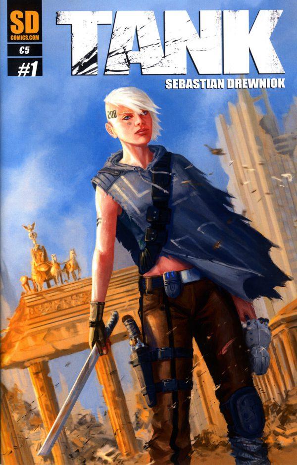 Sebastian Drewniok TANK 1 Cover