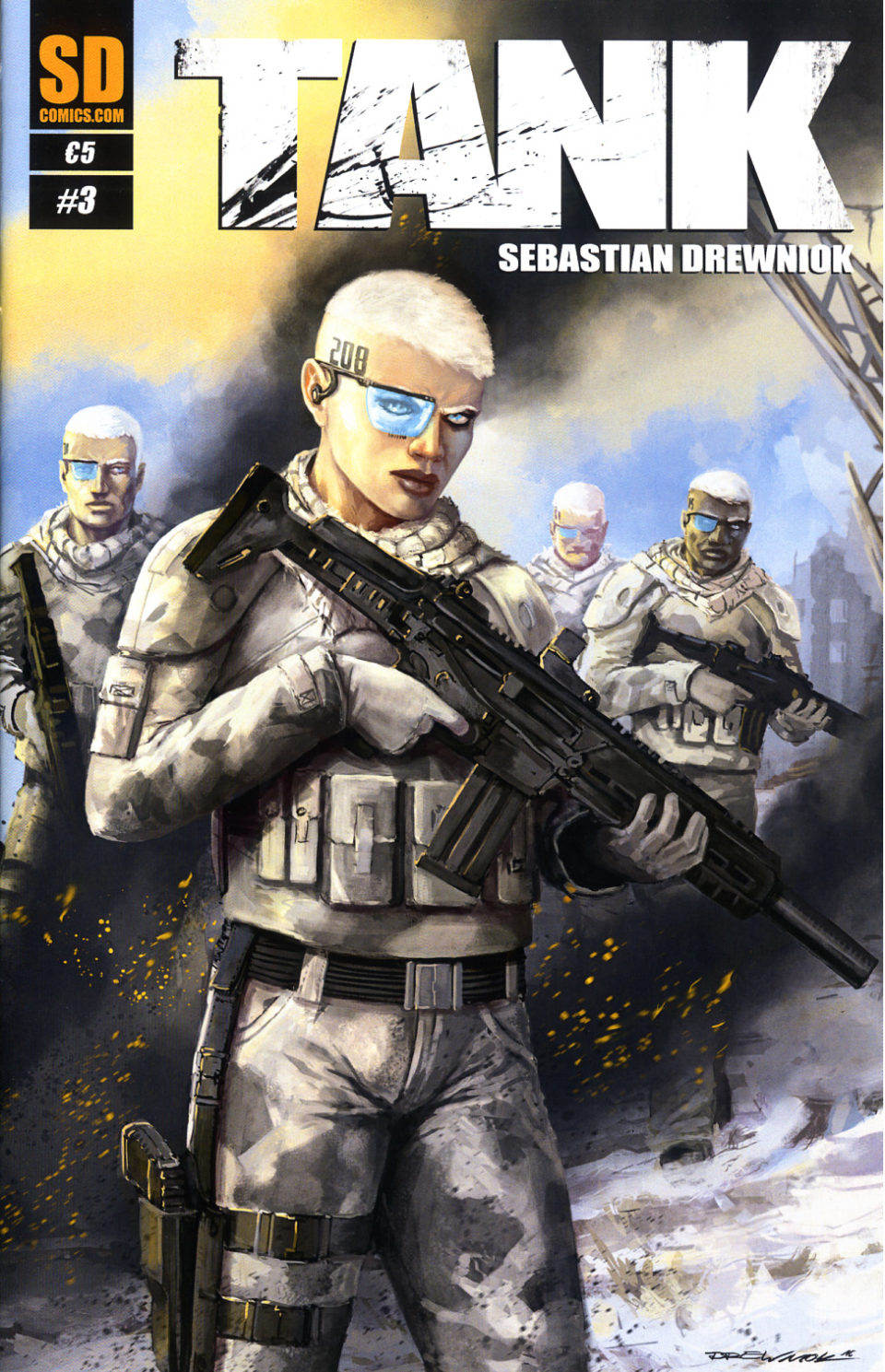 Sebastian Drewniok TANK 3 Cover