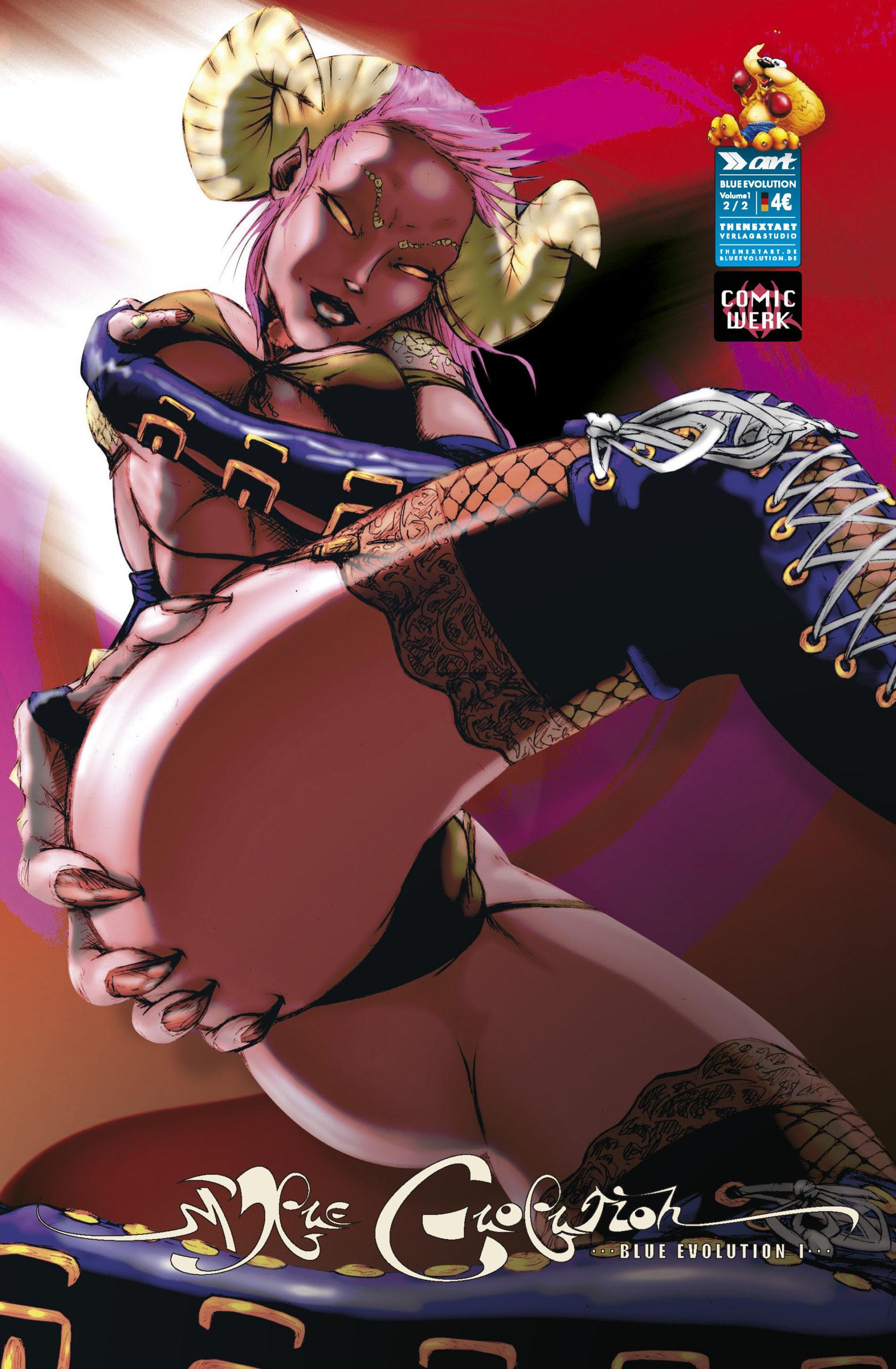 Blue Evolution Vol 1 Nr 2 Cover