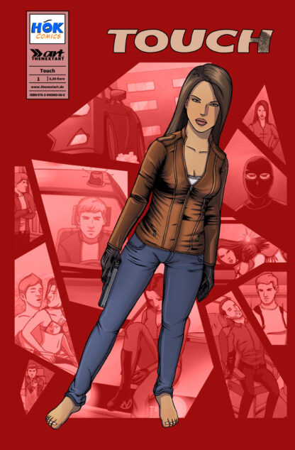 HOK Comics Touch 1 Cover