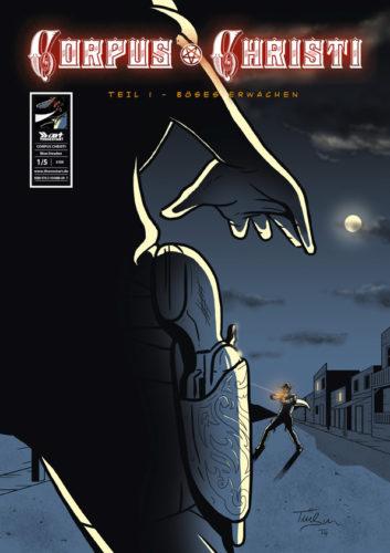 Bernd Trübswasser Corpus Christi 1 Böses Erwachen Cover
