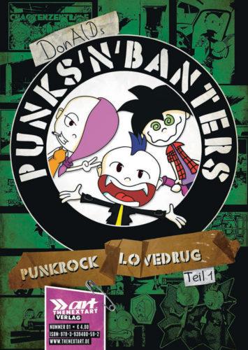 Donald Punk Banters Punkrock Lovedrug Teil 1 Cover