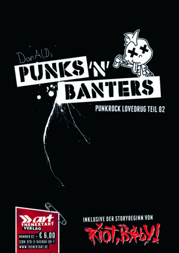 DonAlD Punks'N'Banters Punkrock Lovedrug Teil 2 Cover