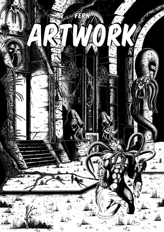 Fern Artwork I Cover