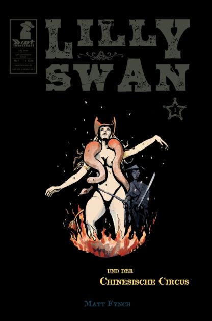 Matt Fynch Lilly Swan - Und der Chinesische Circus 1 Cover