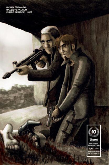 Michael Feldmann Hades Syndrom Hunting Season 4 Cover