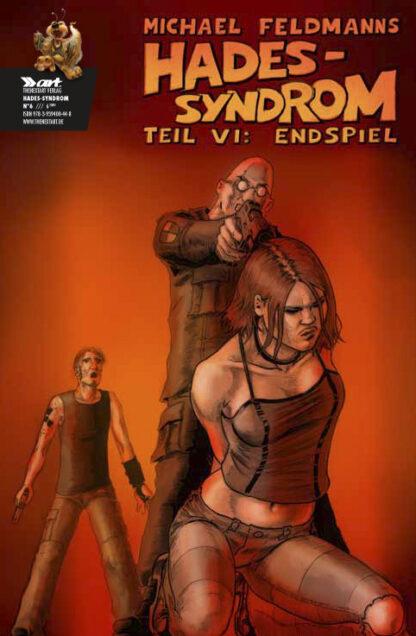 Michael Feldmann Hades Syndrom Vol 1 6 Cover