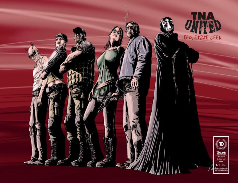 TNA United Der letzte Geek Cover A Tomppa