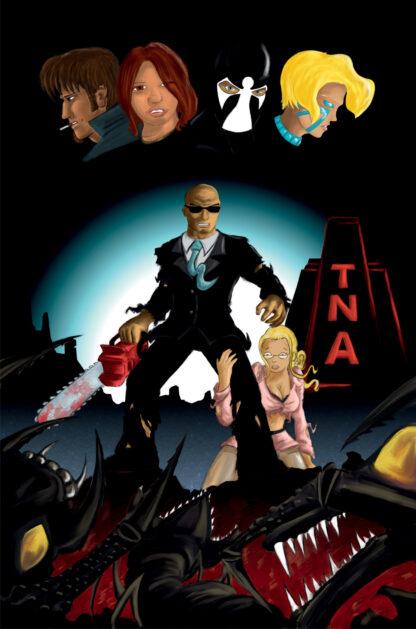 TNA United Der letzte Geek Cover D Robert Heracles