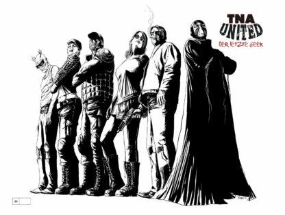 TNA United Der letzte Geek Cover G Tomppa BW