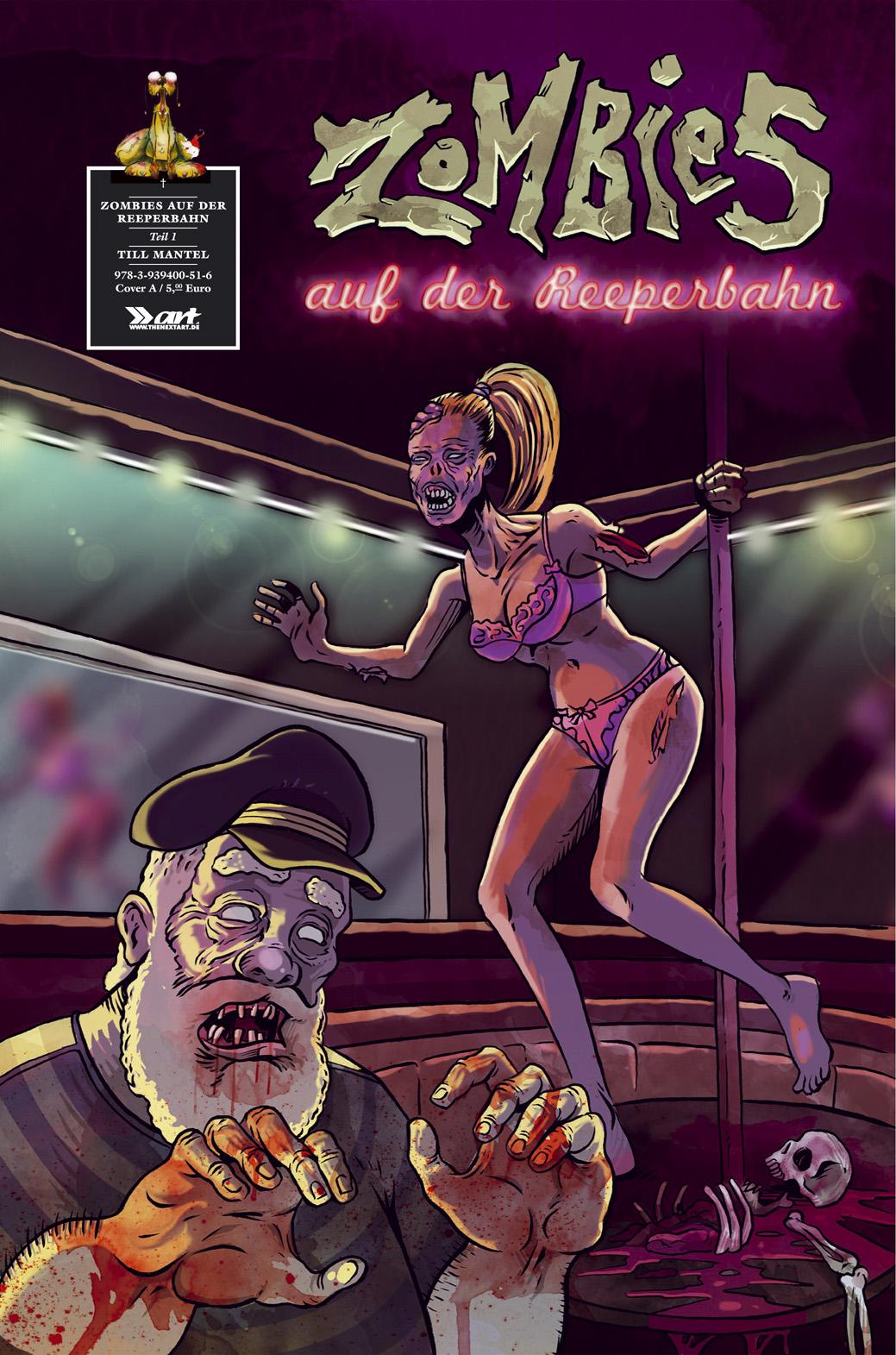 Till Mantel Zombies auf der Reeperbahn 1 Cover A