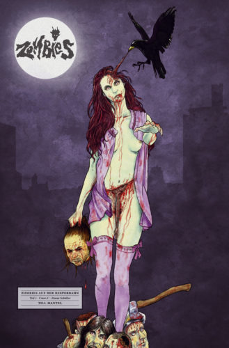 Till Mantel Zombies auf der Reeperbahn 1 Cover C Marco Schüller