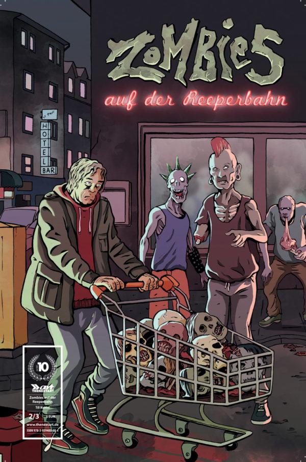 Till Mantel Zombies auf der Reeperbahn 2 Cover A