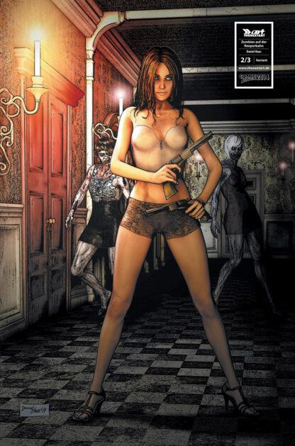 Till Mantel Zombies auf der Reeperbahn 2 Cover C Daniel Haas