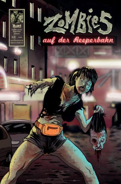 Till Mantel Zombies auf der Reeperbahn 3 Cover A