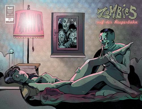 Till Mantel Zombies auf der Reeperbahn 3 Cover C Wraparound
