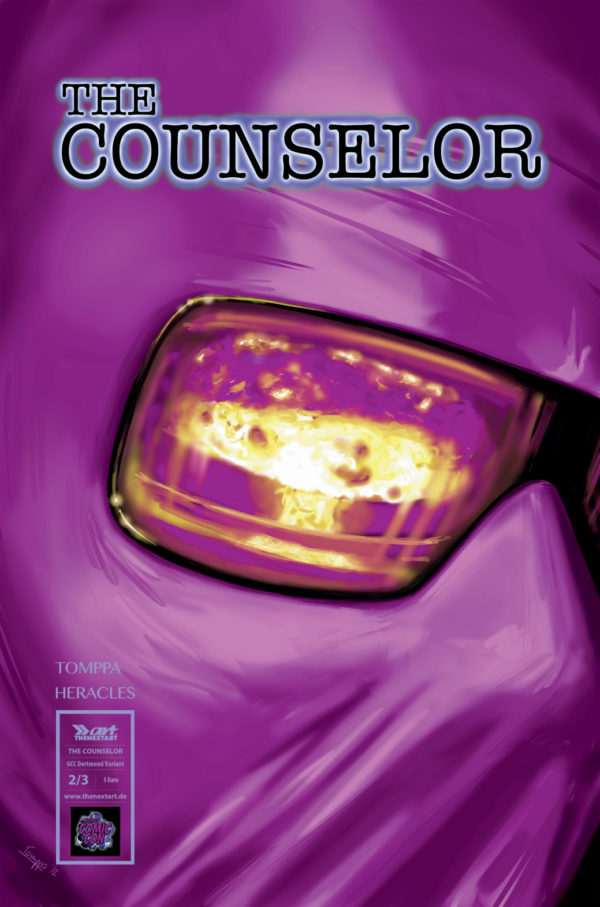 Tomppa Robert Heracles The Counselor 2 Variantcover GCC