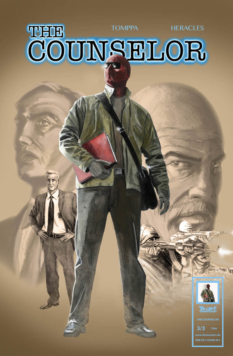 Tomppa Robert Heracles The Counselor 3 Cover
