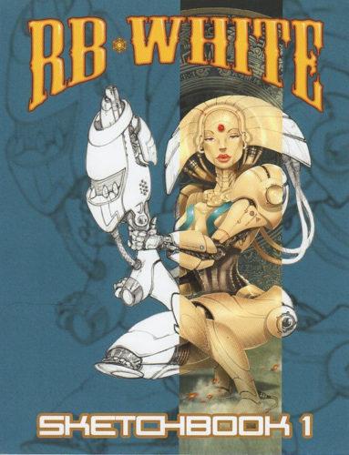CVR Sketchbook 1 RB White