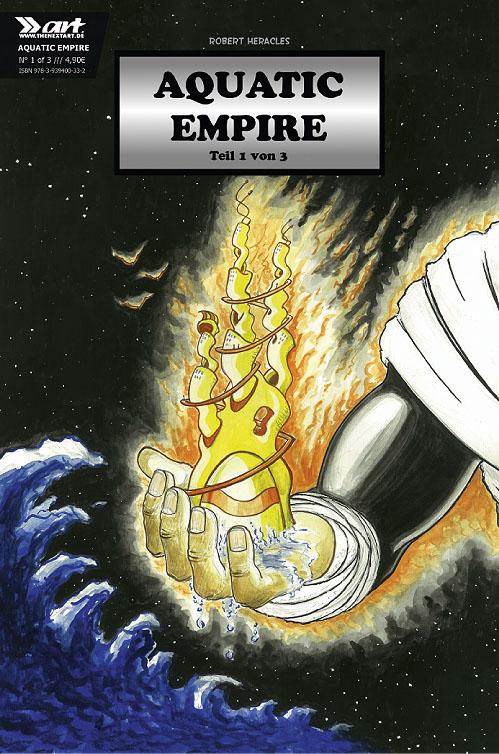 Robert Heracles Aquatic Empire 1 Cover