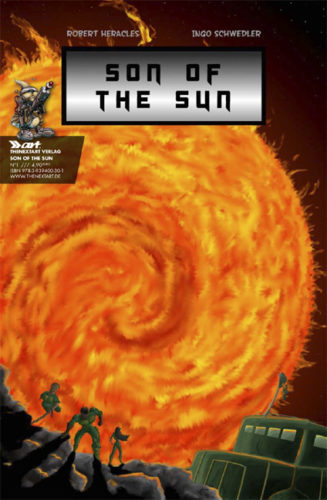 Robert Heracles Son of the Sun Cover