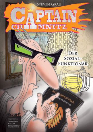 Steven Grau Cäptain Chämnitz 3 Der Sozialfunktionär Cover