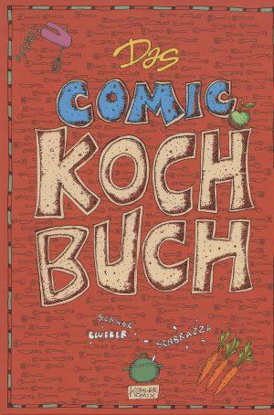 Susanne Köhler Das Comic Kochbuch A4 Cover