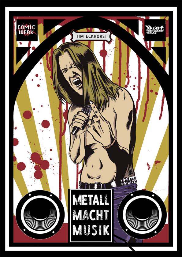 Tim Eckhorst Metall Macht Musik Cover