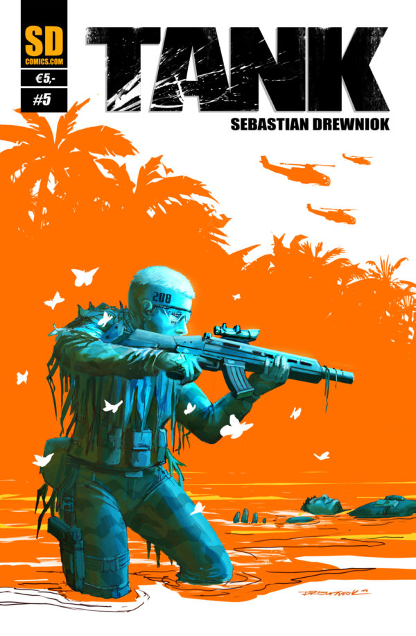 TANK 5 Sebastian Drewniok Cover
